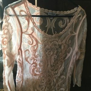 Brand new without tags Express lace top